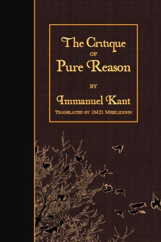 9781523619566: The Critique of Pure Reason