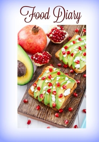 9781523620333: Food Diary (8 x 10 Food Journal, Calorie Tracker) (Volume 1)