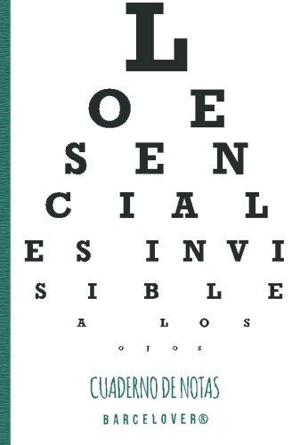 9781523630288: Lo esencial es invisible a los ojos. Cuaderno de notas. Barcelover. Caperucita.: Barcelover (Spanish Edition)