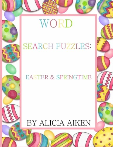 9781523652525: Word Search Puzzles:Easter and Springtime