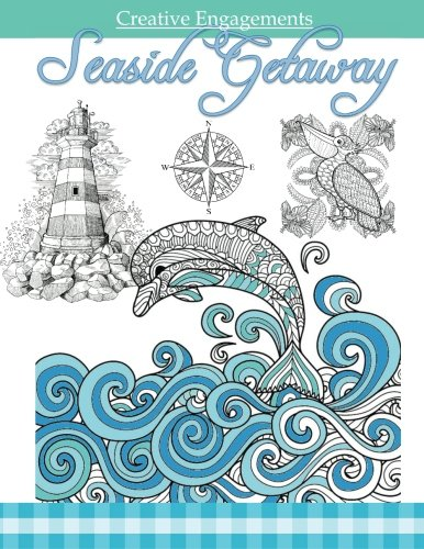 Seaside Getaway: Marine Life Coloring Book ; Adult Coloring Books Ocean in All Depa ; Ocean Animals...