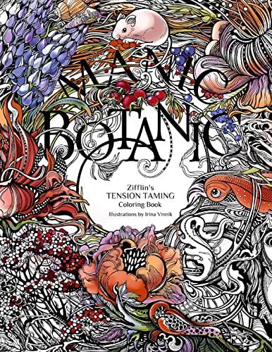 9781523692057: Manic Botanic: Zifflin's Coloring Book