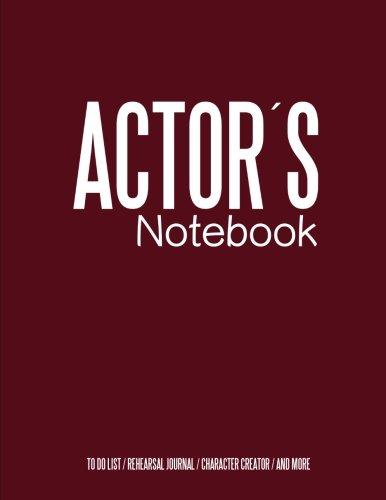 9781523692118: Actors Notebook: Cinema Notebook for Cinema Artists