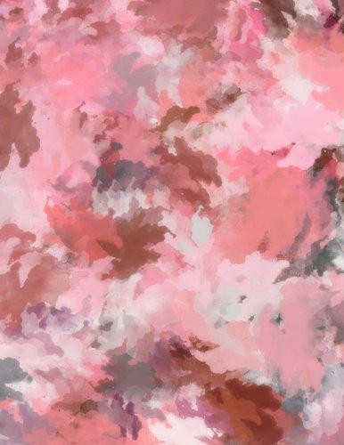 9781523719242: Writer's Journal - Artistic Pink Leaf