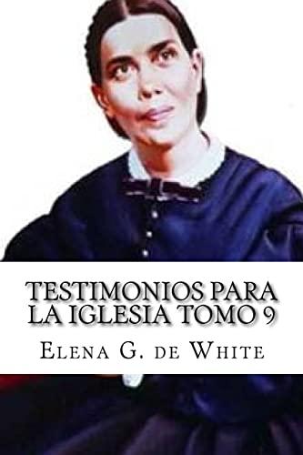 9781523722556: Testimonios Para la Iglesia Tomo 9