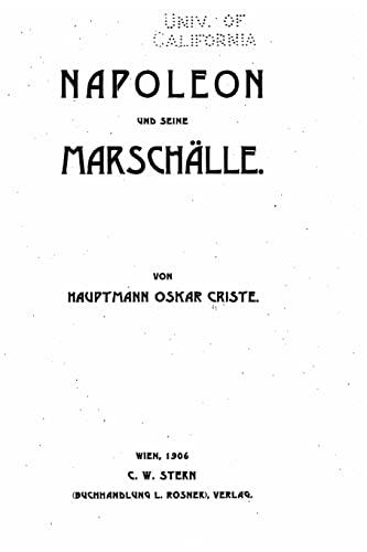 9781523750689: Napoleon und seine Marschälle
