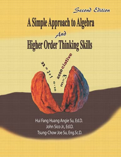 9781523758364: A Simple Approach to Algebra and Higher Order Thinking Skills