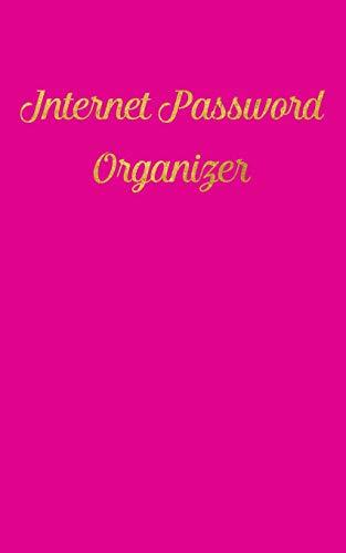 9781523801411: Internet Password Organizer: An alphabetical journal to organize internet log-in details - Pink Cover