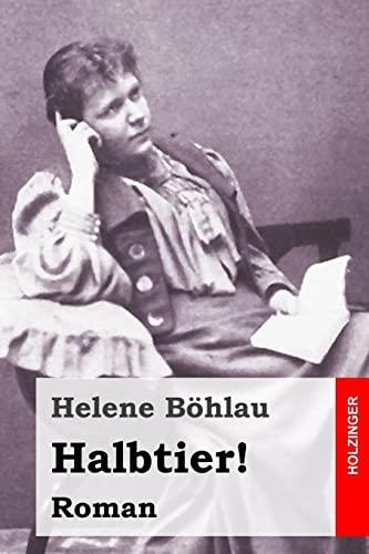 9781523850358: Halbtier! (German Edition)