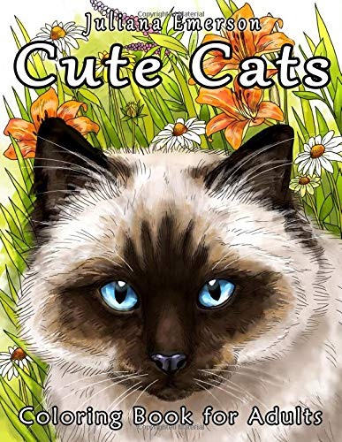 9781523851980: Cute Cats Coloring Book for Adults