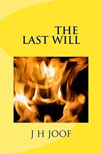 9781523862474: The Last Will