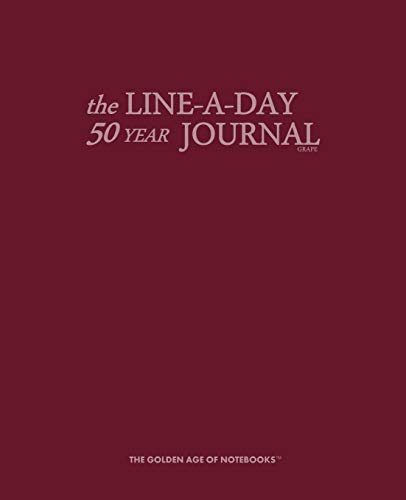 9781523868391: The Line-A-Day 50 Year Journal Grape