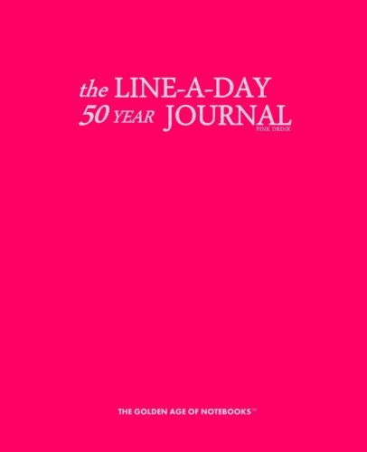 9781523868438: The Line-A-Day 50 Year Journal Pink Drink