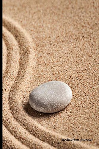 Meditation Journal: Spirit Rocks and the Path,Lined Journal,Blank Book 6 x 9, 150 Pages for ...