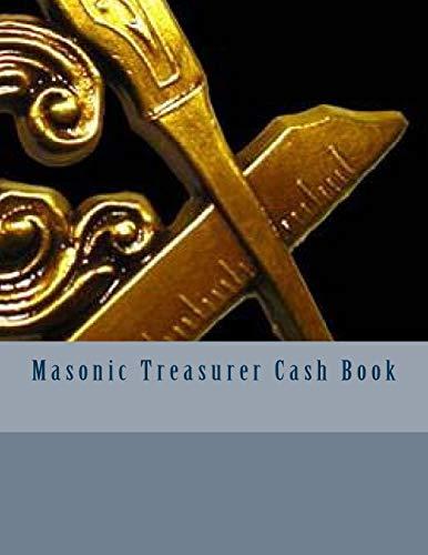 9781523890675: Masonic Treasurer Cash Book