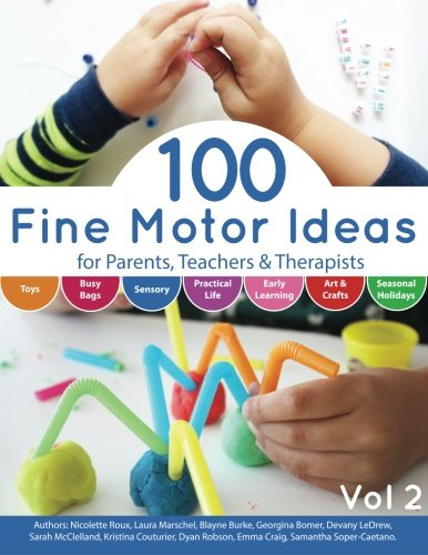 100 Fine Motor Ideas: for Parents, Teachers & Therapists (Volume 2)