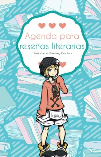 9781523945801: Agenda para reseñas literarias (color): interior a color: Volume 1 (Agenda para blogueros)