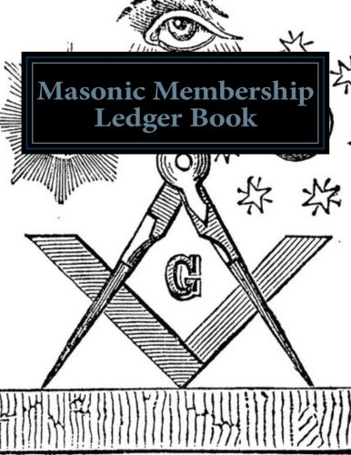 Masonic Membership Ledger Book: AP Forms