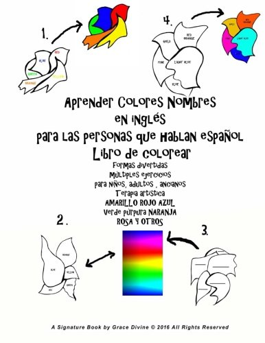 Aprender Colores Nombres En Ingles Para Las: Grace Divine