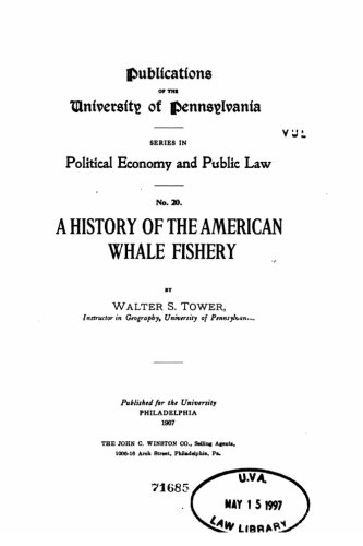 9781523985814: A History of the American Whale Fishery