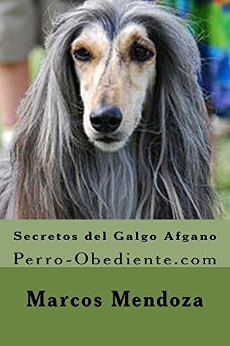 9781523989546: Secretos del Galgo Afgano: Perro-Obediente.com (Spanish Edition)
