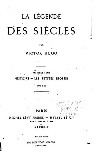 9781523995165: La légende des siècles (French Edition)