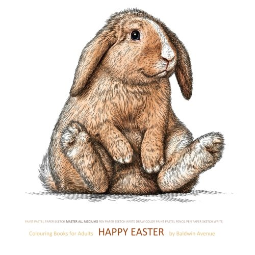 9781523998715: Colouring Book for Adults Happy Easter: Colouring Books for Adults Christian in al; Adult Coloring Books Alice in Wonderland in a; Adult Coloring ... Christian in al; dolphins elephants in al
