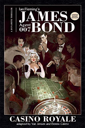 9781524107185: James Bond: Casino Royale Signed by Van Jensen
