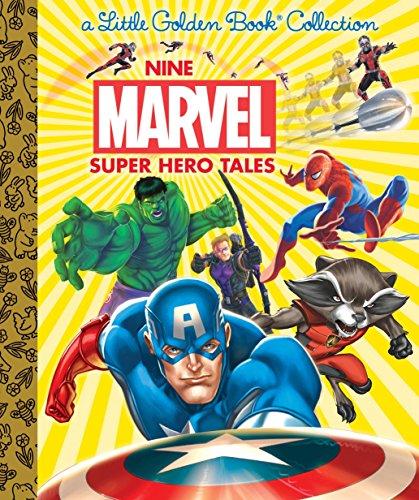 Nine Marvel Super Hero Tales (Marvel) (Hardback or Cased Book)