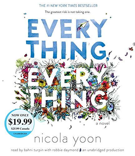 Everything, Everything 9781524723569 The instant #1 New York Times bestseller--now a major motion picture starring Amandla Stenberg as Maddy and Nick Robinson as Olly. Risk everything . . . for love. What if you couldn't touch anything in the outside world? Never breathe in the fresh air, feel the sun warm your face . . . or kiss the boy next door? In Everything, Everything, Maddy is a girl who's literally allergic to the outside world, and Olly is the boy who moves in next door . . . and becomes the greatest risk she's ever taken. My disease is as rare as it is famous. Basically, I'm allergic to the world. I don't leave my house, have not left my house in seventeen years. The only people I ever see are my mom and my nurse, Carla. But then one day, a moving truck arrives next door. I look out my window, and I see him. He's tall, lean and wearing all black—black T-shirt, black jeans, black sneakers, and a black knit cap that covers his hair completely. He catches me looking and stares at me. I stare right back. His name is Olly. Maybe we can't predict the future, but we can predict some things. For example, I am certainly going to fall in love with Olly. It's almost certainly going to be a disaster. Everything, Everything will make you laugh, cry, and feel everything in between. It's an innovative, inspiring, and heartbreakingly romantic debut novel that unfolds via vignettes, diary entries, illustrations, and more. The movie is available on digital now! everythingeverythingfilm on Instagram @everythingfilm on Twitter @everythingeverythingmovie on Facebook everythingeverythingmovie.com And don't miss Nicola Yoon's The Sun Is Also A Star, the #1 New York Times bestseller in which two teens are brought together just when it seems like the universe is sending them in opposite directions.