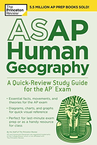 9781524757656: ASAP Human Geography: A Quick-Review Study Guide for the AP Exam (College Test Preparation)