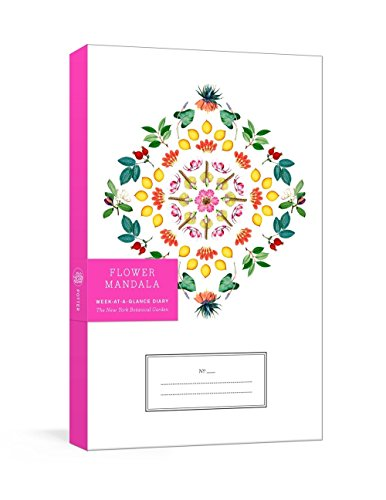 Flower Mandala Planner New York Botanical Garden The