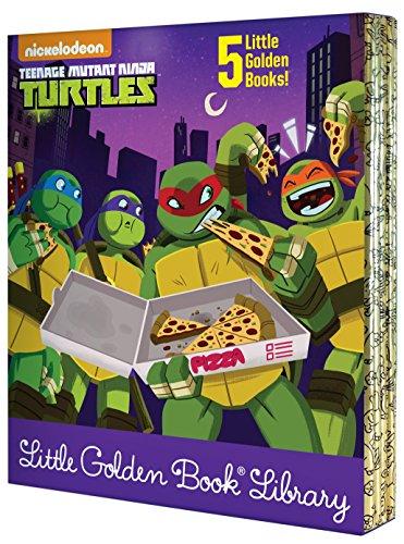 Teenage Mutant Ninja Turtles Little Golden Book Library :