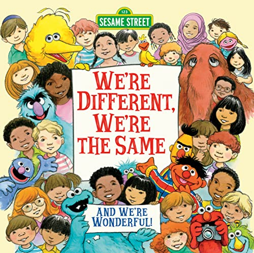 we re the same Amazoncom: we're different, we're the same (sesame street) (pictureback(r)) (8581126911118): bobbi kates, joe mathieu: books.