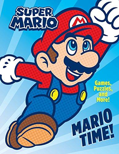 9781524772642: Mario Time! Activity Book (Super Mario) [Idioma Inglés]