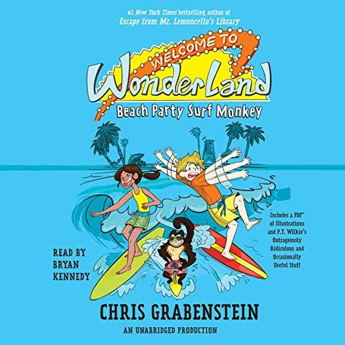 9781524774738: Welcome to Wonderland #2: Beach Party Surf Monkey