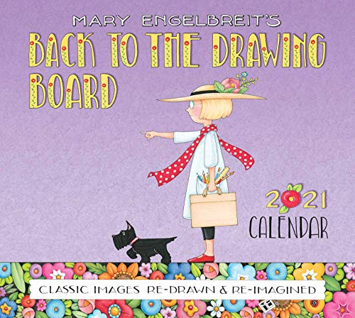 9781524855154: Mary Engelbreit 2021 Deluxe Wall Calendar: Back to the Drawing Board