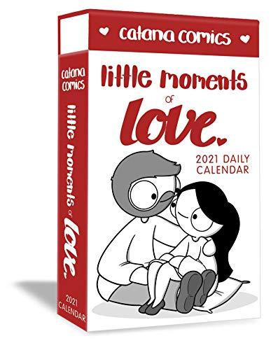 9781524857370: Catana Comics Little Moments of Love 2021 Daily Calendar