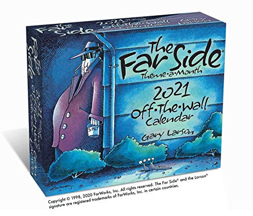 9781524863005: The Far Side® Theme-a-Month 2021 Off-The-Wall Calendar