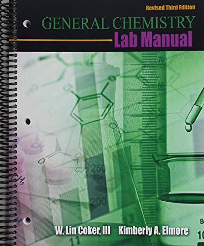 9781524904104: General Chemistry Lab Manual