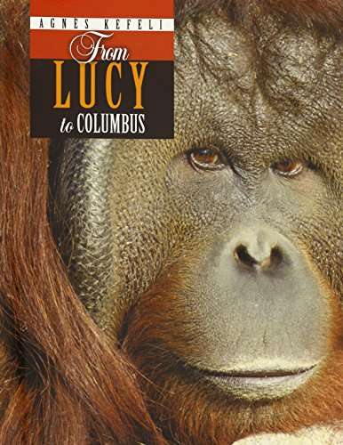 From Lucy to Columbus (Paperback): Agnes Kefeli-clay