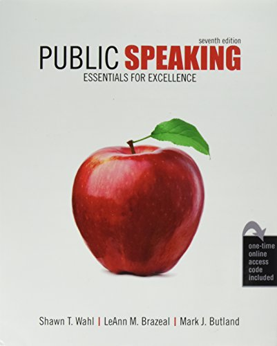 Download Public Speaking: Essentials for Excellence