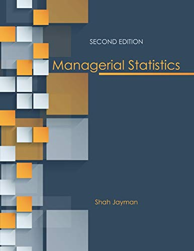 Managerial Statistics: Jayman, Shah