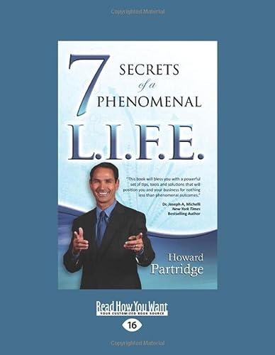 9781525239496: 7 Secrets of a Phenomenal L.I.F.E.