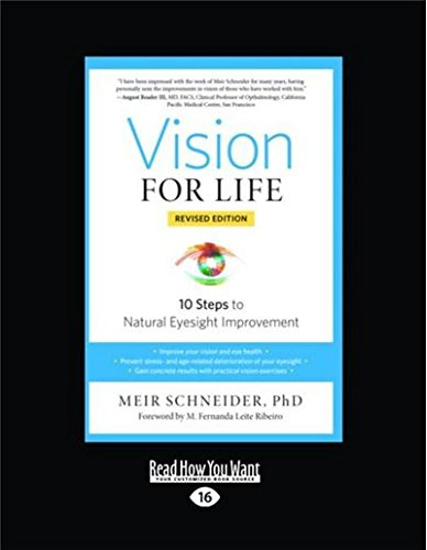 9781525241338: Vision for Life: 10 Steps to Natural Eyesight Improvement (Revised Edition)