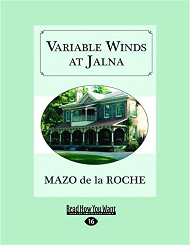 9781525244926: Variable Winds at Jalna