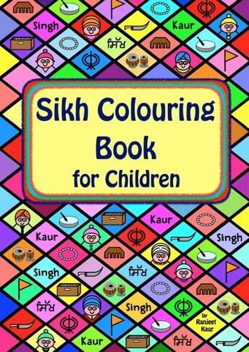 9781526203991: Sikh Colouring Book for Children