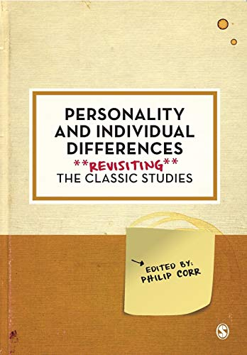 9781526413611: Personality and Individual Differences: Revisiting the Classic Studies (Psychology: Revisiting the Classic Studies)