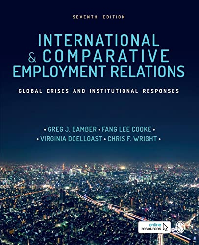 , International and Comparative Employment Relations