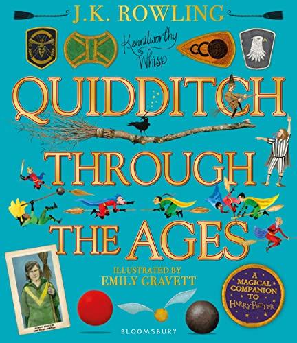 Beispielbild für Quidditch Through the Ages - Illustrated Edition: A magical companion to the Harry Potter stories ++++ A SUPERB SIGNED UK FIRST EDITION HARDBACK - SIGNED BY THE ILLUSTRATOR +++ zum Verkauf von Zeitgeist Books